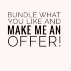 Other - Bundle Items and Save! Open to any offers!